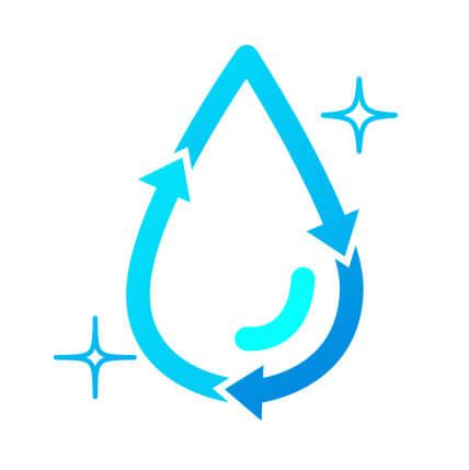 更に水の鮮度を保つために定期循環