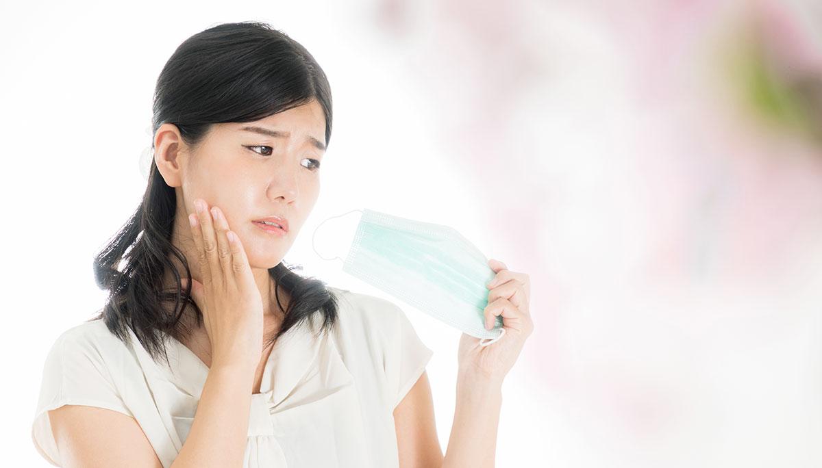 「マスク荒れ」にはお肌の水分補給を!肌荒れの原因と予防策
